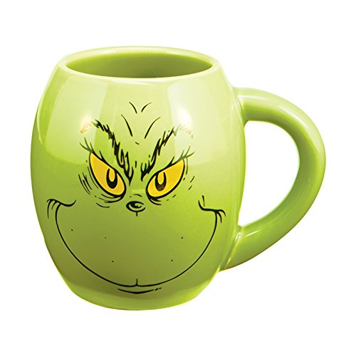Vandor 52878 Grinch Ceramic 18 Ounce product image