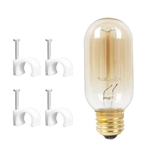 stglighting Vintage dimmable Wall Light Retro Industrial Edison Glass Lampshade Bulb Included Plug-in Wall Sconce Iron Shade Wall Lamps Sconce Fixtures for Loft Bar Pub Hotel