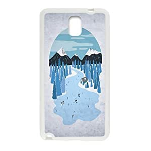 Snow forest vocation for Samsung Galaxy Note 3 Hard Case yiuning's case wangjiang maoyi
