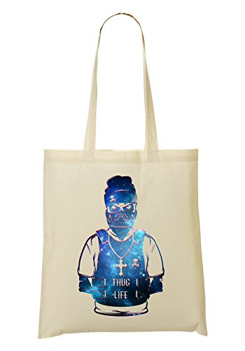Thug Life Outlaw Gang Bandana Cool Phrases Words Bolso De Mano Bolsa De La Compra