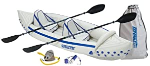 Sea Eagle 330 Inflatable Kayak with Pro Package