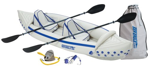 Sea Eagle 330 Inflatable Kayak with Pro Package: Amazon co