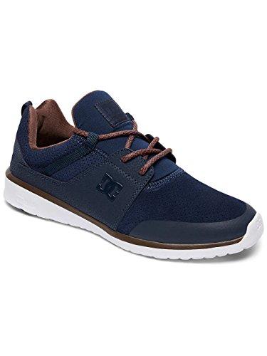 DC ShoesHeathrow Presti M - Zapatillas de Deporte Hombre Azuloscuro