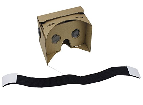 """QWinOut DIY 3D Glasses Google Cardboard with NFC Tag Mobile Phone VR Virtual Reality Viewing Tool Kit for 5.0"""" Screen"""