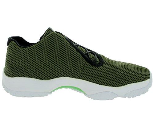 Nike Jordan Herren Air Jordan Future Low 305-verblasst Olive Light Poison Grün Schwarz Weiß