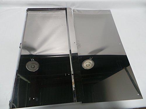 Zephyr AK0716 Range Backsplash With Warming - Warming Backsplash Shelves