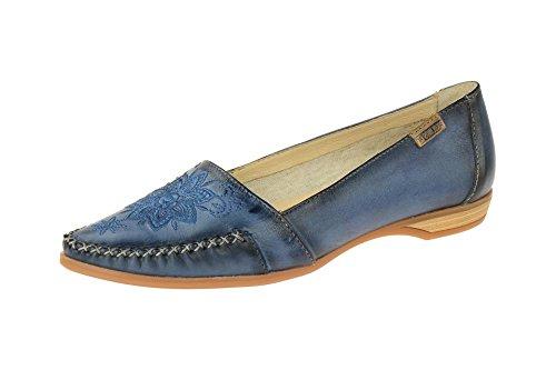 Pikolinos Vrouwen Schoenen - Comfortabele Slipper - Lage Schoenen Bari Blauw