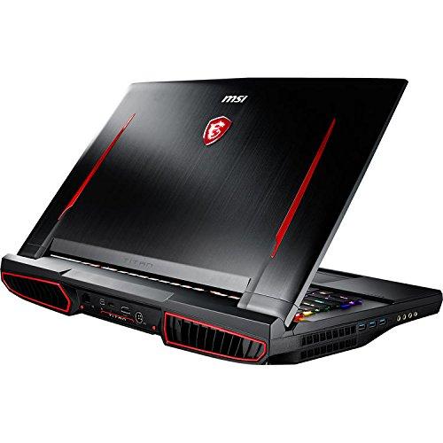"MSI GT75 Titan 17.3"" FHD Gaming Laptop - Intel Core i9-8950HK, RTX2080, 16GB DDR4, 256GB NVMe SSD, Mechanical Keyboard, Win10, VR Ready, GT75 TITAN-013"