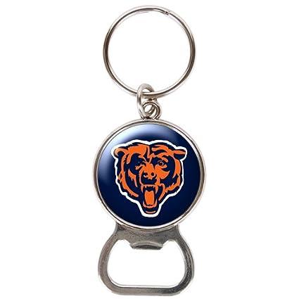 NFL Chicago Bears Bottle Opener Key Chain Fan Apparel & Souvenirs Basketball-NBA