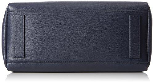 Tommy Hilfiger Cool Hardware Satchel Corp - Pochette da giorno Donna, Nero (Corporate), 15.5x31x25.5 cm (B x H x T)