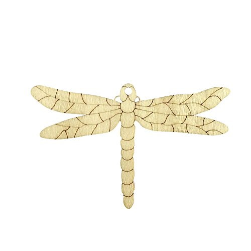- Yeefant 10Pcs DIY Painted Wood Chip Dragonfly Shapes Hanging Pendant Festival Party Decor Room Window Pendant for Bedroom Bathroom Livingroom kindergarten,3.5x2.4x0.1 Inch