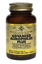 Advanced Acidophilus Plus Solgar 240 VCaps