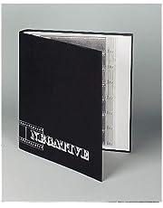 Hama 9003 - Archivador de negativos con anillas (265 x 315 mm), negro
