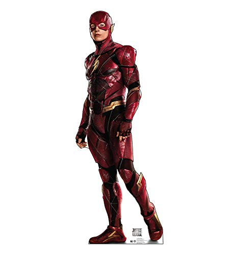 Advanced Graphics The Flash Life Size Cardboard Cutout Standup - Justice League (2017 Film)