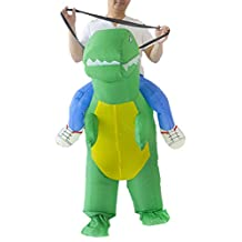 THEE Adult Inflatable Dinosaur Costume for Halloween
