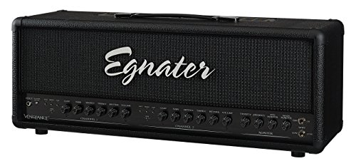 Egnater VENGEANCE 120-Watt Two Channel Tube Head, 4 x 6L6 Power Tube, 6 x 12AX7 Preamp Tubes