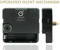 VinylShopUS - Reloj de Pared de Vinilo con diseño de ...
