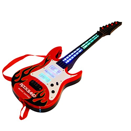 guitar wolfbush multi function kids electric guitar 4 strings musical instruments educational. Black Bedroom Furniture Sets. Home Design Ideas