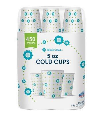 Member's Mark Bath Cup, 5 oz. (450 ct.) - 1 PACK -