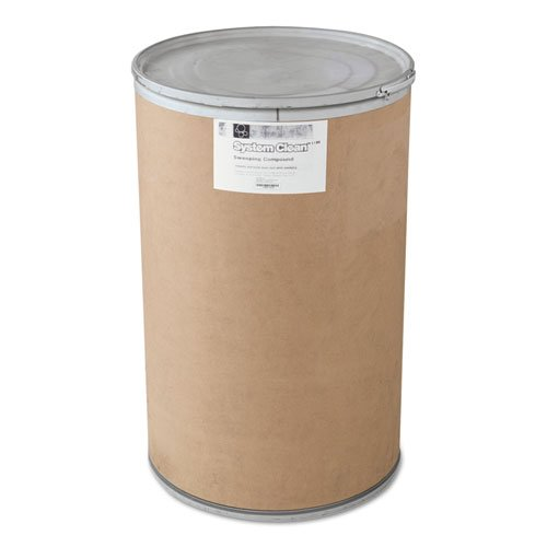 Boardwalk Grit-Free Sweeping Compound, Granular, 150 lb Drum - Includes one 150-lb drum. by Boardwalk
