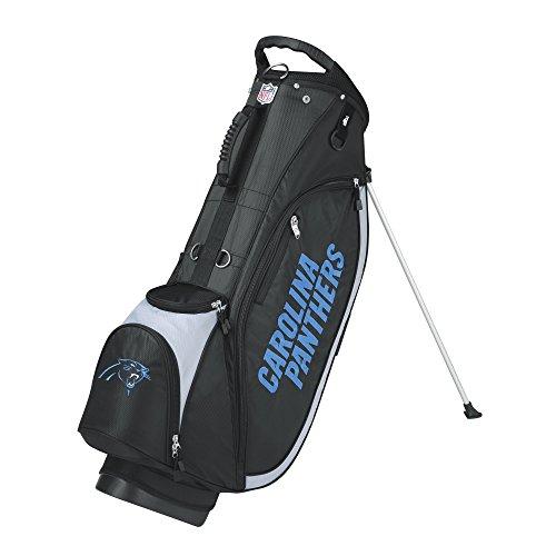 Wilson NFL Carolina Panthers Carry Golf Bag, Black/Grey, One ()