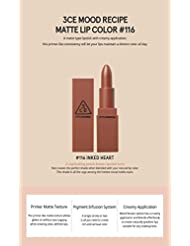 3CE (3 Concept Eyes) Mood Recipe Matte Lip Color (#116)