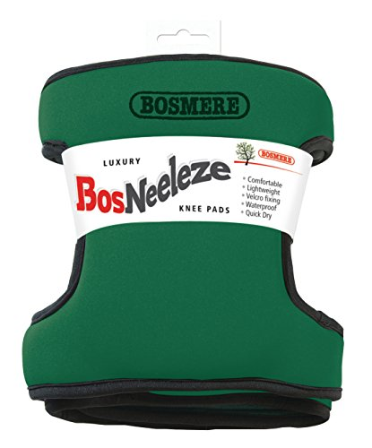 - Bosmere G127G Bosneeleze Luxury Garden Knee Pads, Dark Green