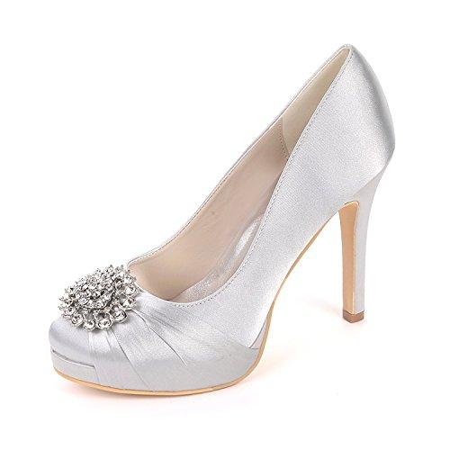 Arbeit Schuhe Tabelle Schuhe Farbe Schuhe High Mode Heels tägliche runden Party Qingchunhuangtang Hochzeit Temperament wasserdichte 6fwFFq