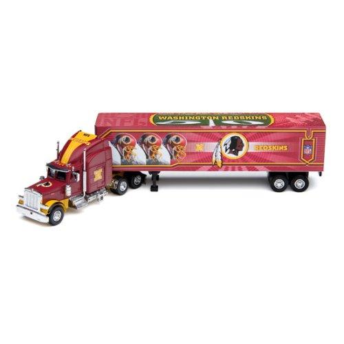 2006 Nfl Tractor Trailer (Washington Redskins 2006 NFL Peterbilt Tractor-Trailer)