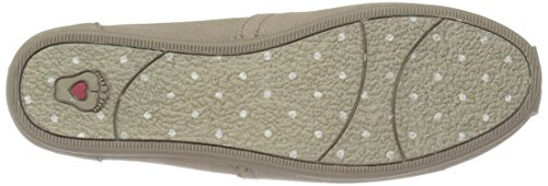 BOBS da Skechers Plush-Wish-Skers da donna Flat, Taupe Wish