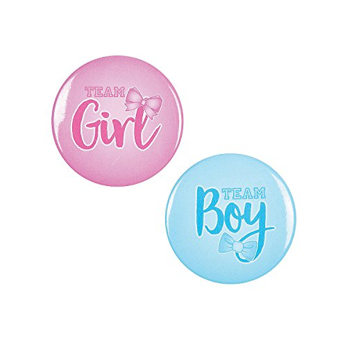 Gender Reveal Team Boy & Team Girl -