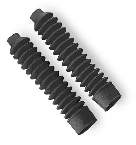 Daystar Fork Boots 58 Series - Black F00058BK04 by Daystar