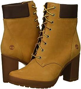 Timberland Camdale Leather Block Heel Field Hiker Boots   Dillard's