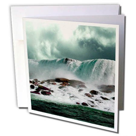3dRose TDSwhite – Miscellaneous Photography - Travel Niagara Falls New York - 6 Greeting Cards with Envelopes (gc_285366_1)