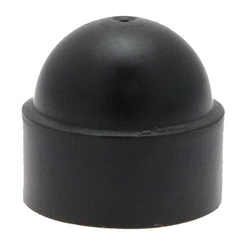 M8 Black Nut /& Bolt protection caps Hex caps Pack of 25 NC010