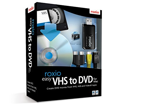 Roxio Easy VHS to DVD Burning and Video Capture for Mac (Burning Dvd Software)