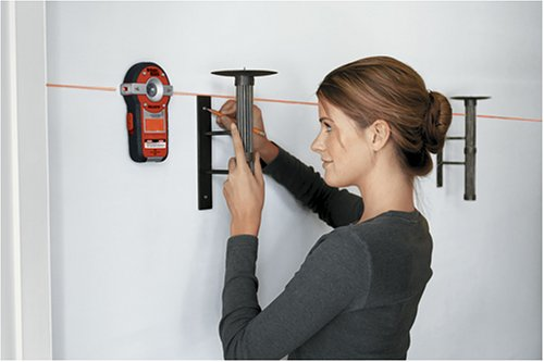 Use the BLACK+DECKER BDL190S Laser to hang pictures in a straight line