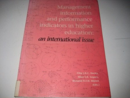 Management Information and Performance: Indicators in Higher Education: An International Issue