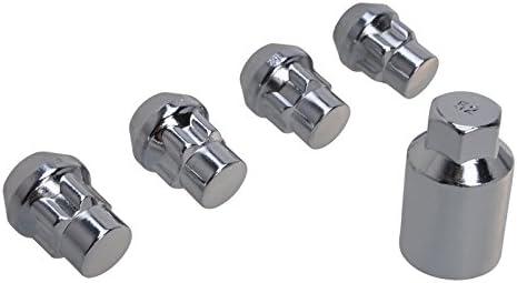 Felgenschloss Set 12x1 5x23c Kegelbund Muttern Radsicherung Radmuttern Auto