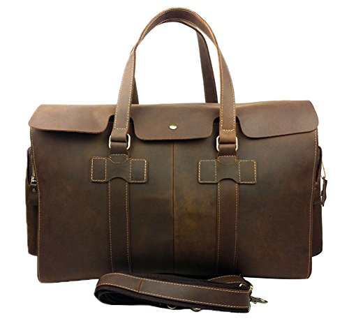 Genda 2Archer Vintage Travel Duffel Bag Boarding Luggage Carry On Gifts for Men by Genda 2Archer
