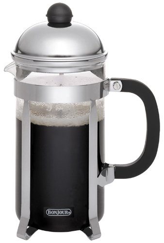 BonJour Monet 3-cup Unbreakable French Press (French 3 Press Bonjour Cup)