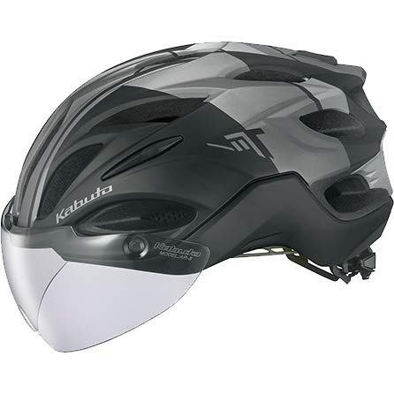 OGK KABUTO(オージーケーカブト) ヘルメット VITT (ヴィット) カラー:G-1マットブラック サイズ:S/M   B07N36H5TJ