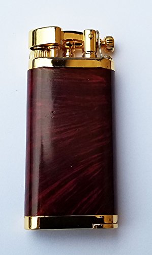 Old Boy Pipe and Cigar Lighter in an Attractive Gift Box Warranty Red Briar Gold