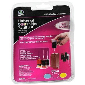 NCR Universal Color Inkjet Refill Kit, 1 Each by NCR - Printer Ncr Ink