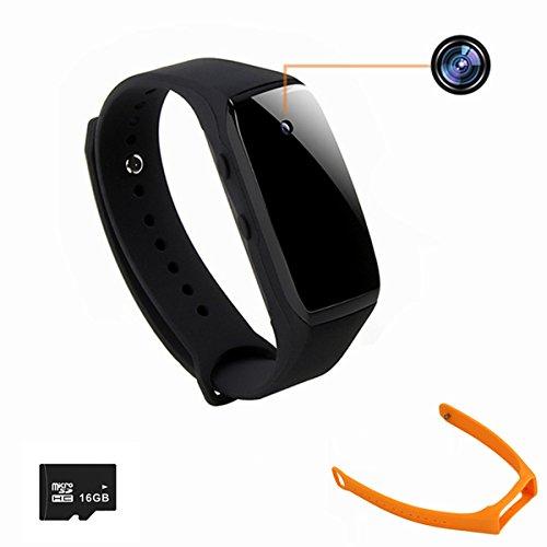 1080P Bracelet Mini Camera,ESROVER 16GB Wirstband Mini Nanny Dvr Surveillance Camera
