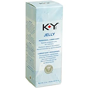 K-Y Personal Lubricating Jelly, 2 Ounces Tube (Pack of 4)