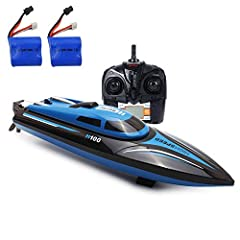 Specification: Material: Plastic Battery Type:Lithium ion battery Battery of boat: 7.4V 600mAh lithium ion battery (Included) Battery of Transmitter: 4 x AA 1.5V battery ( Not included. ) Age Range: Above 14 Years old Charging time: 40~50 min...