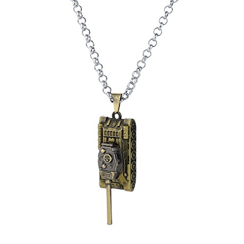 LUREME World of Tanks Pendant Necklace Cosplay Premium Quality Jewelry Gift Series (nl006047-1)