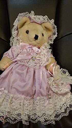 Bearly People GLAMOUR BRIDESMAID Collectible Brown Bear 14