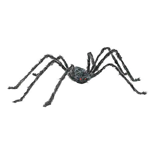 Totally Ghoul 50'' Giant Posable Spider- Orange and -